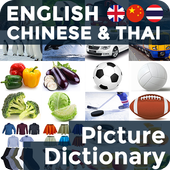 Picture Dictionary EN-CN-TH icon