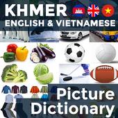 Picture Dictionary KH-EN-VI icon
