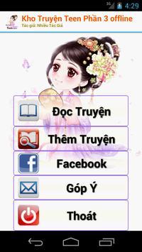 Kho Truyện Teen Phần 3 Offline poster