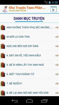 Kho Truyện Teen Phần 3 Offline apk screenshot