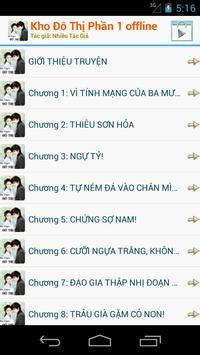 Kho Truyện Đô Thị - Offline apk screenshot
