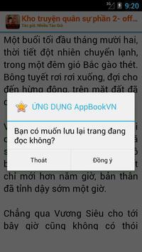 Kho truyện quân sự -Offline P2 screenshot 4
