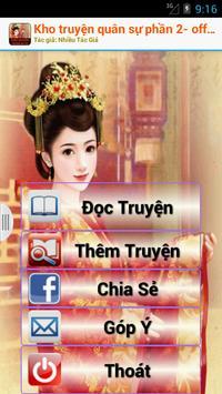Kho truyện quân sự -Offline P2 poster