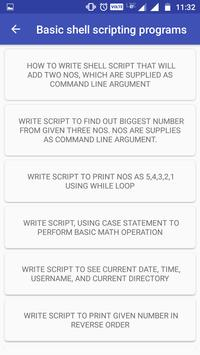 Linux Shell Script concepts - Learn Linux for Android - APK
