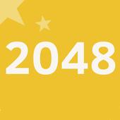 classic 2048 puzzle icon