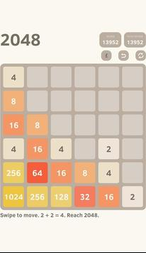 classic 2048 puzzle screenshot 4