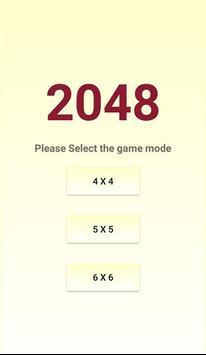 classic 2048 puzzle poster