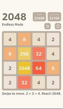 classic 2048 puzzle screenshot 2