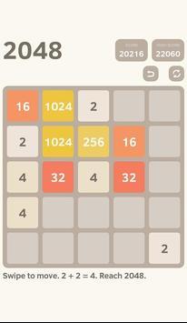 classic 2048 puzzle screenshot 3