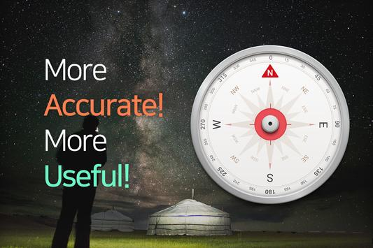 Accurate Compass Affiche