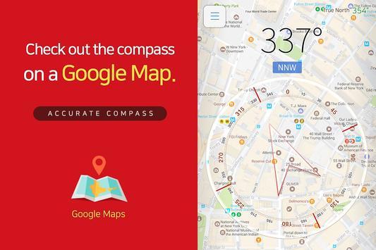 Accurate Compass capture d'écran 1