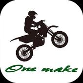 京都市の中古バイク、オフロードバイク専門店【ワンメイク】 icon