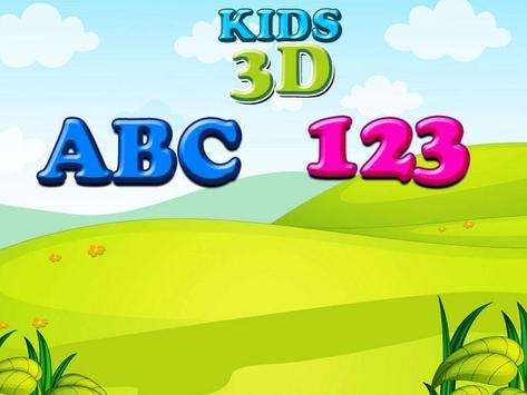 Kids 3D ABC 123 screenshot 5