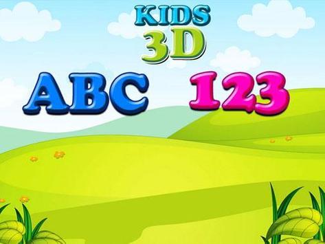 Kids 3D ABC 123 screenshot 10