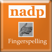 NADP Fingerspell icon