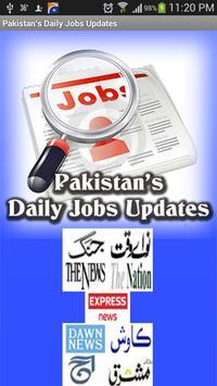 Pakistani Job News poster