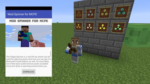 Mod Spinner for MCPE poster