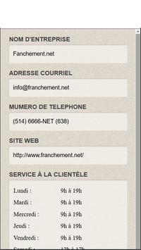 FranchementNet apk screenshot
