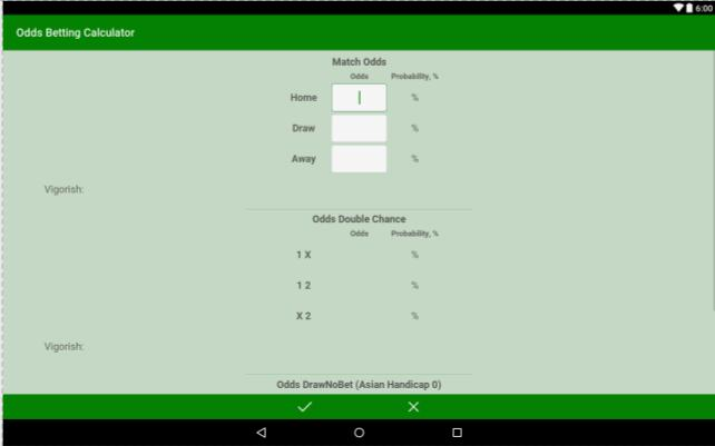 Double chance betting calculator oddschecker belmont park horse racing betting calculator