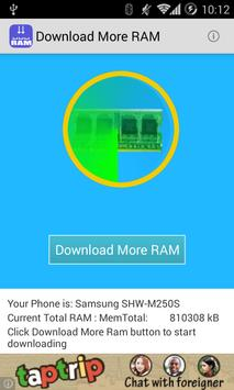 download more ram apk download free tools app for android