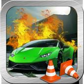 Stunt parking challenge icon