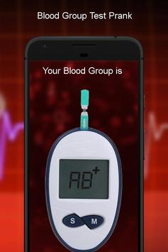 Blood Group Checker Prank apk screenshot