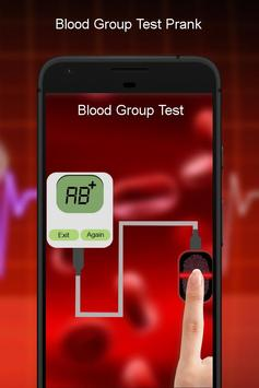 Blood Group Checker Prank poster