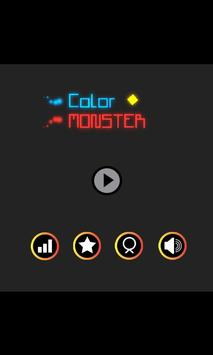 Color Monster Poster