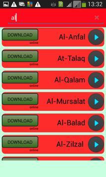 full mp3 qoran FREE downloader apk screenshot
