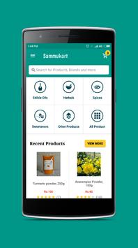 Sammukart Online Shopping poster