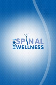 Hope Spinal Wellness poster