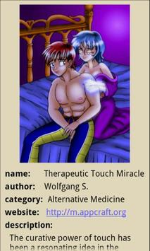 Therapeutic Touch Miracle poster