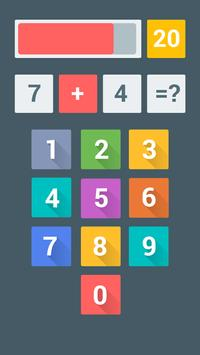 FOUR! Math Game screenshot 1