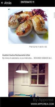GUATINÉ RESTAURANTE HUELVA screenshot 1