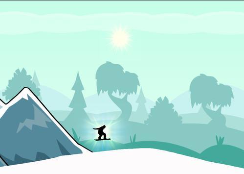 Snowboarder SKater Jump screenshot 2