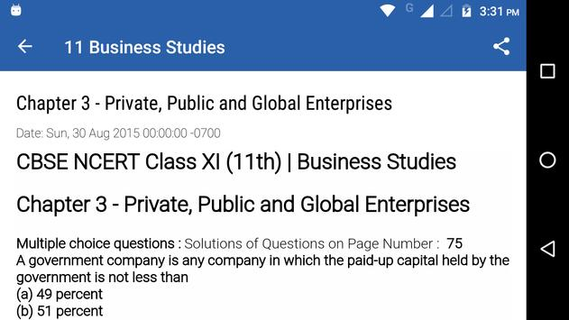 Class 11 business studies for android apk download class 11 business studies screenshot 3 malvernweather Choice Image