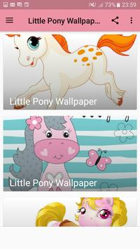 Little Pony Wallpaper Fan App screenshot 1