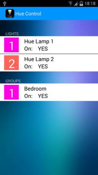 Hue Control FREE poster