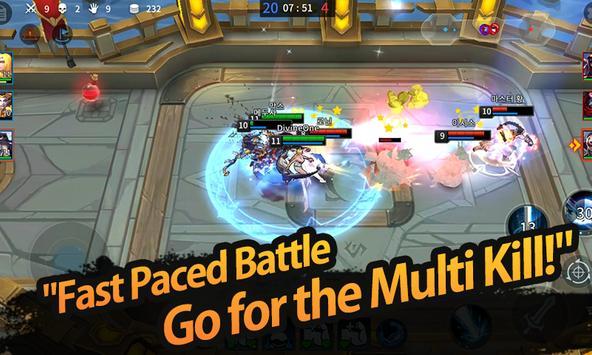 League of Masters : Legend PvP MOBA Battle apk screenshot