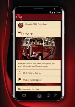 Omnibus3000 PocketLog screenshot 4