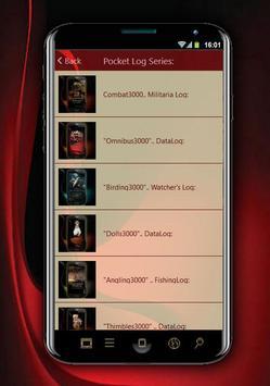 Omnibus3000 PocketLog screenshot 5