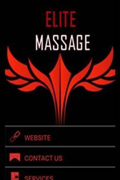 Elite Massage llc poster