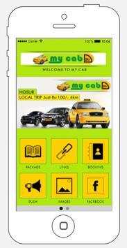 MY CAB - HOSUR screenshot 1
