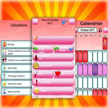 Women's Diary Period,Ovulation Tracker GO screenshot 1
