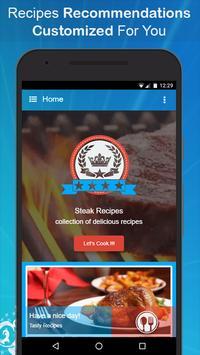 Delicious Steak Recipes poster