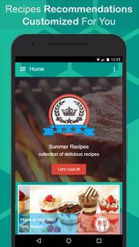 Summer Recipes poster