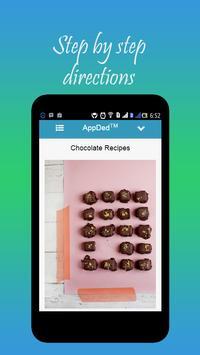 Chocolate Recipes apk screenshot