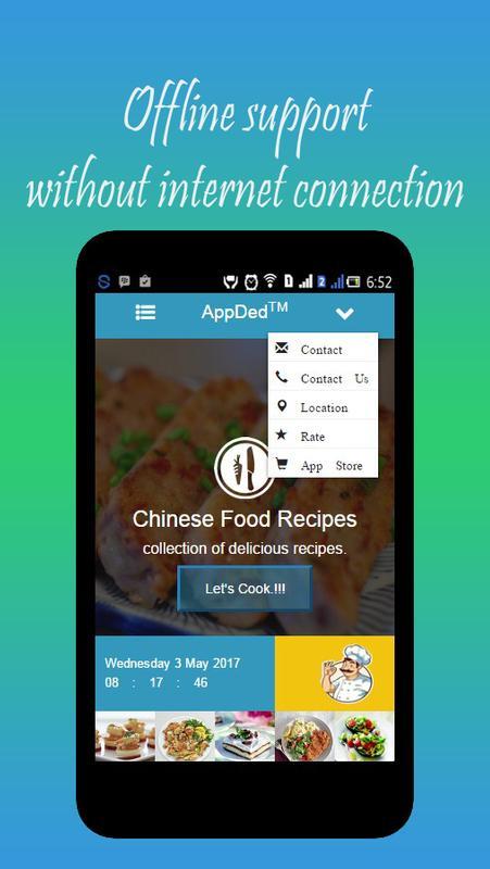 Chinese food recipes descarga apk gratis estilo de vida aplicacin chinese food recipes captura de pantalla de la apk forumfinder Choice Image