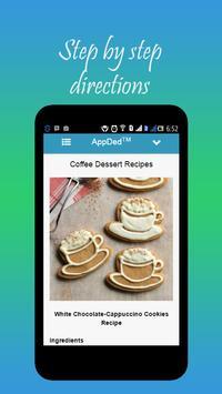 Coffee Dessert Recipes apk screenshot