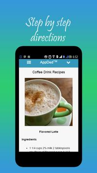Coffee Drink Recipes apk screenshot